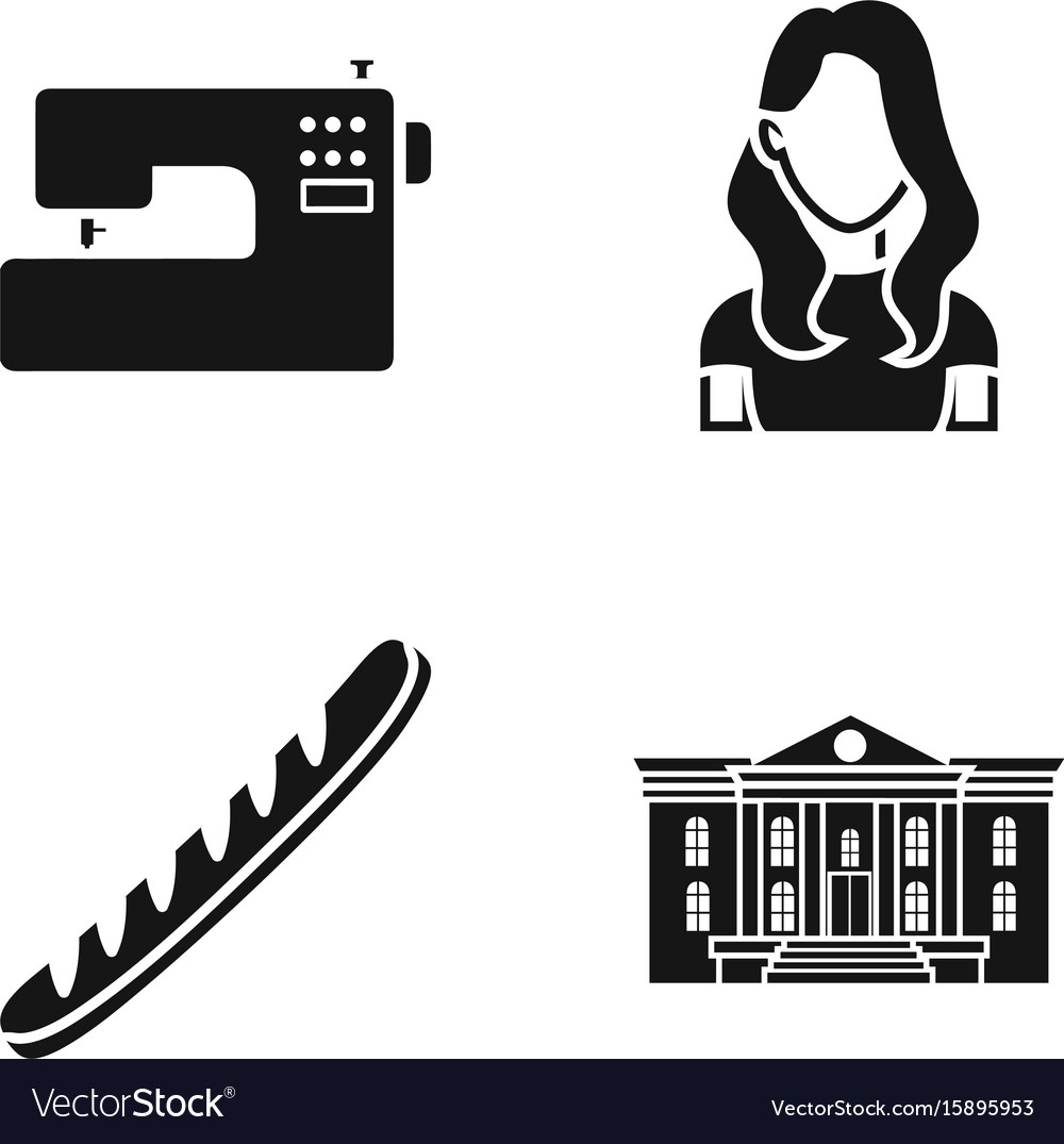 Hairdresser shop centre and other web icon in vector image