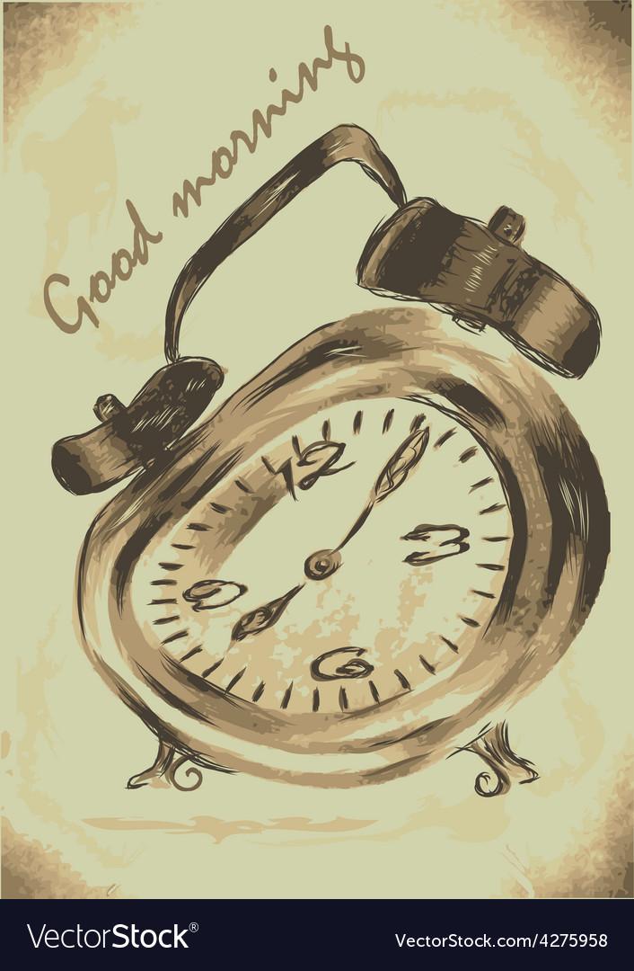 Alarm clock morning