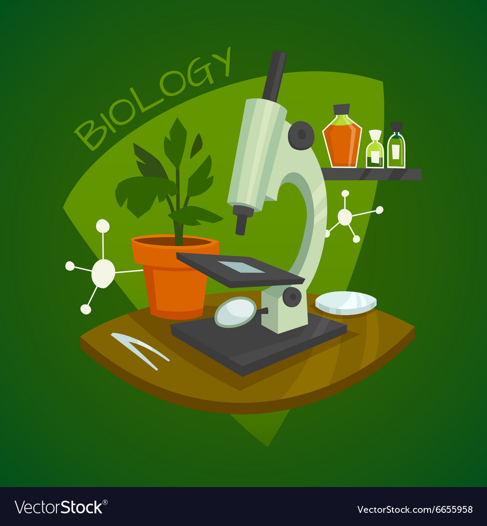 Biology Laboratory Workspace Design Concept