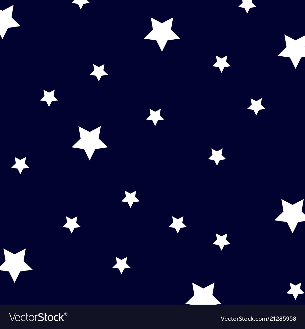 Blue abstract background night sky with stars
