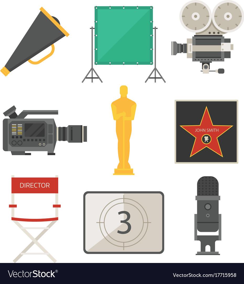 Cinema movie making tv show tools equipment