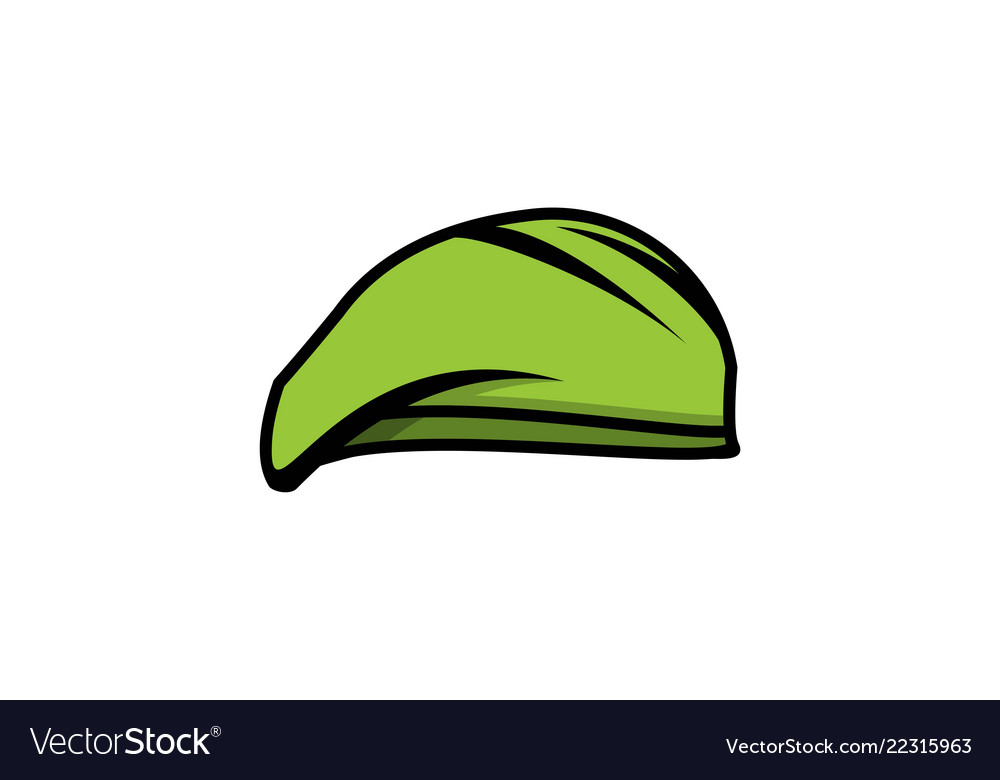 Hat of military logo designs inspiration isolated