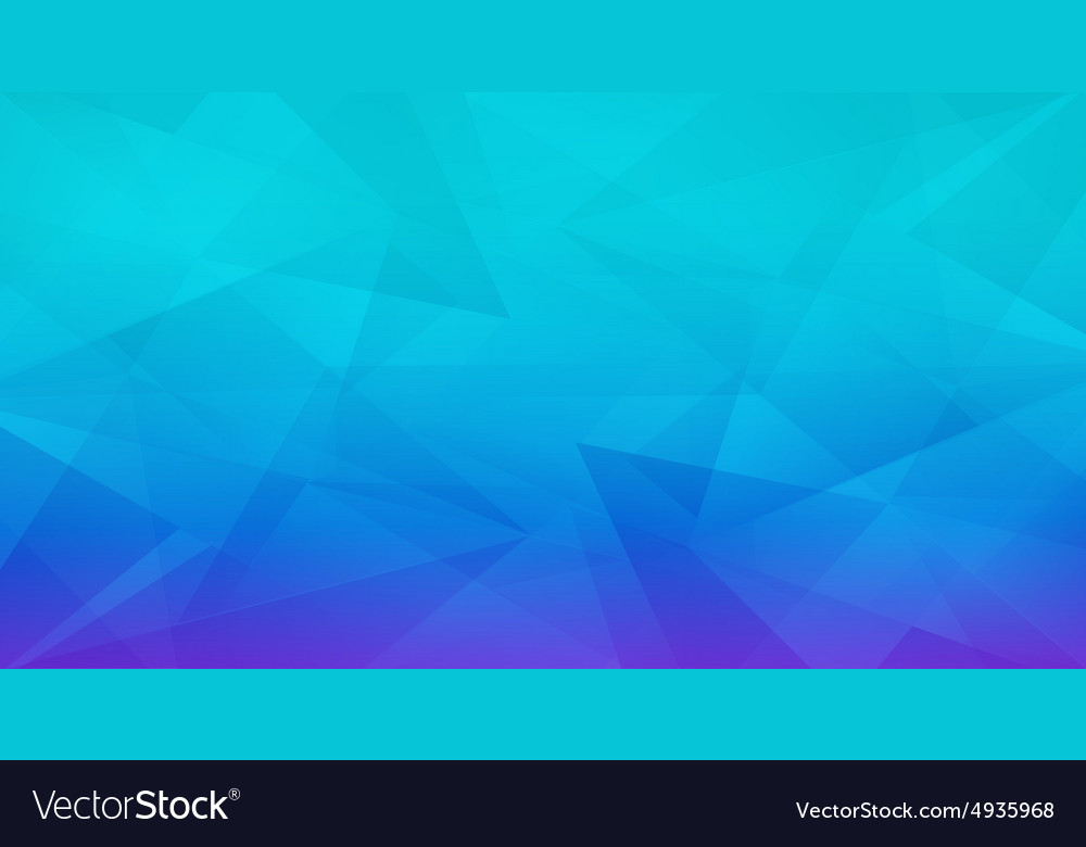 Abstract geometric polygonal blue background