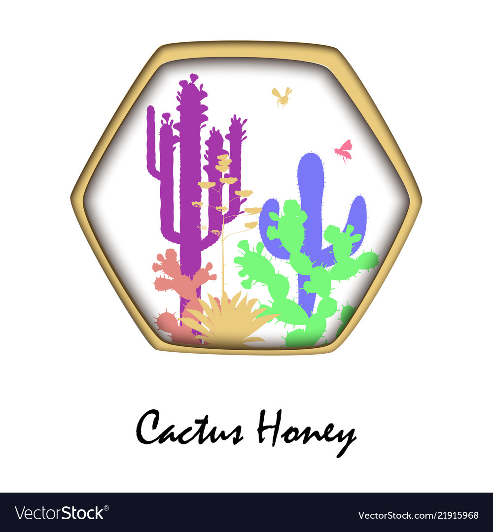 Honey bees and prickly pear cactus