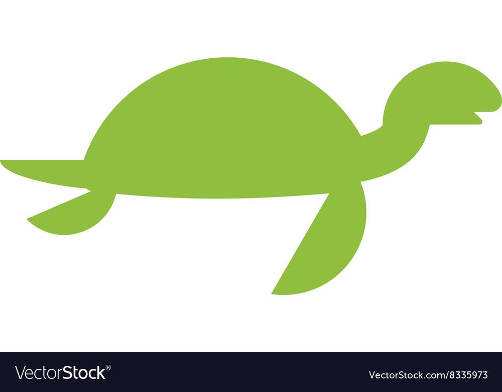 A cute cartoon turtle