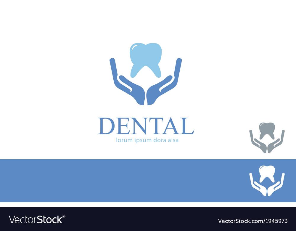 Dental Care Dentist Teeth Wellness Logo Concept