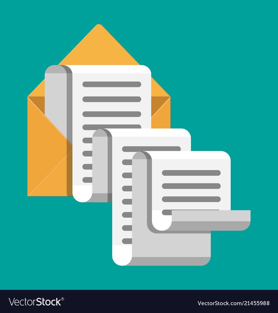 Paper envelope letter correspondence
