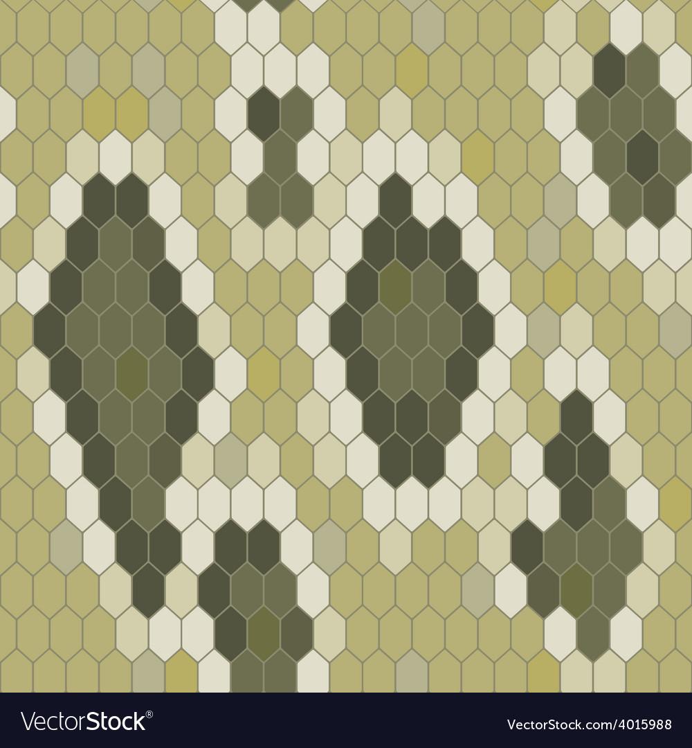 Snake skin texture Seamless pattern python vector image