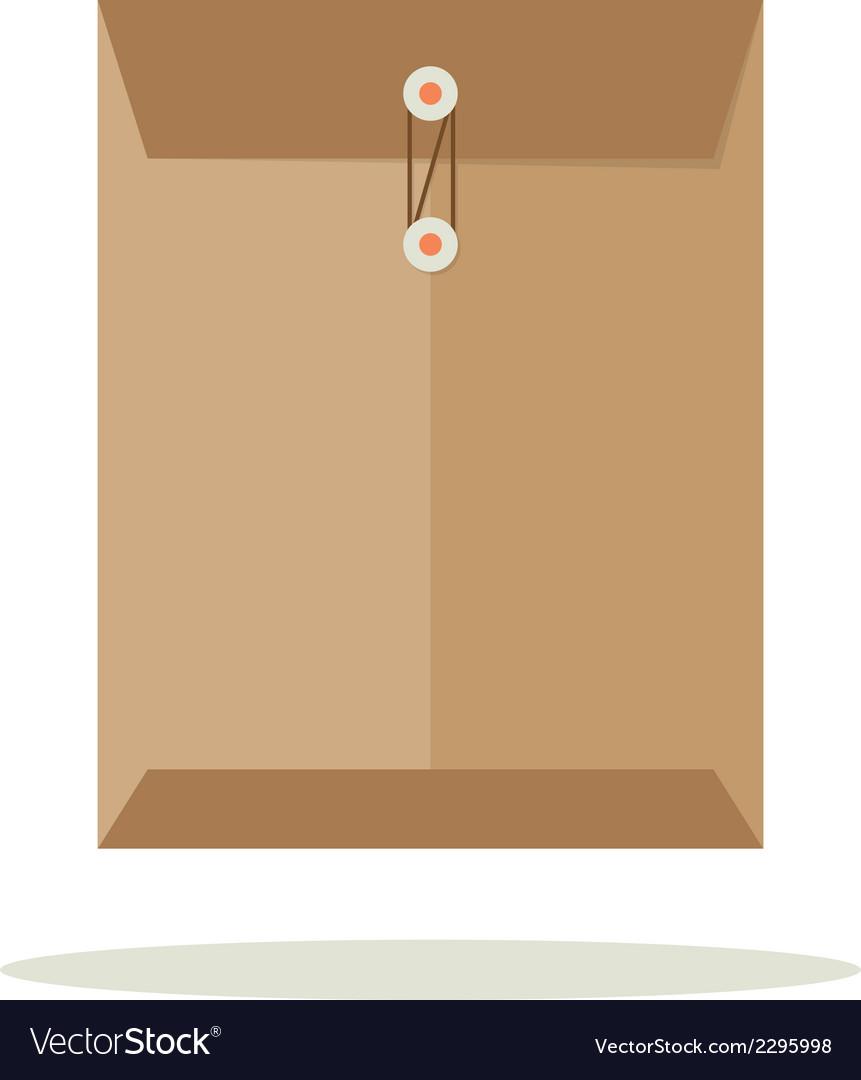 Envelope flat design