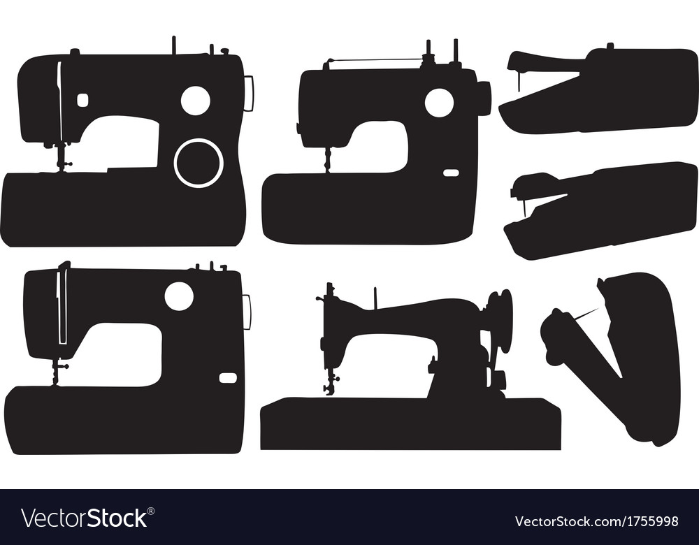 Sewing Machine Royalty Free Vector Image VectorStock Fascinating Sewing Machine Vector Free