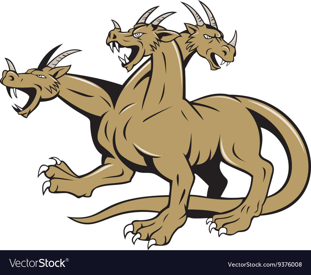 Hydra Crouching Attack Cartoon