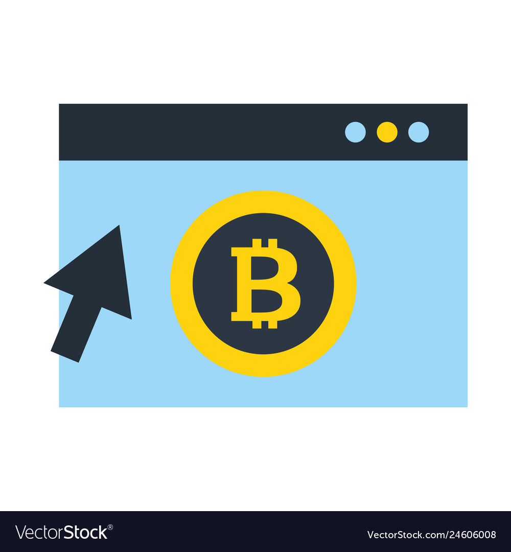 Website bitcoin cryptocurrency clicking
