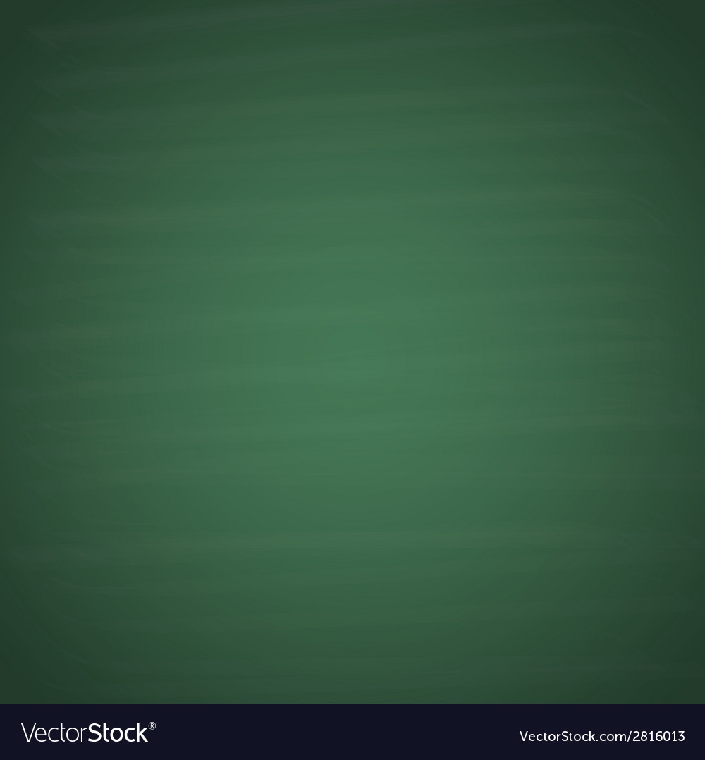 blank green chalkboard background royalty free vector image