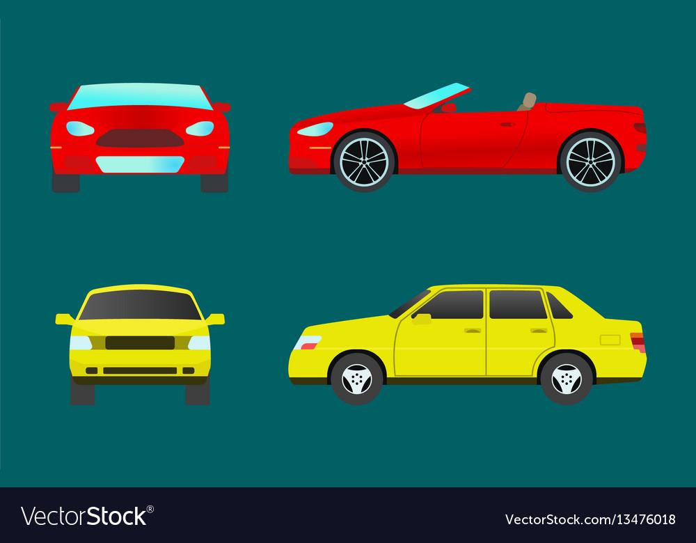 Car vehicle transport type design travel race
