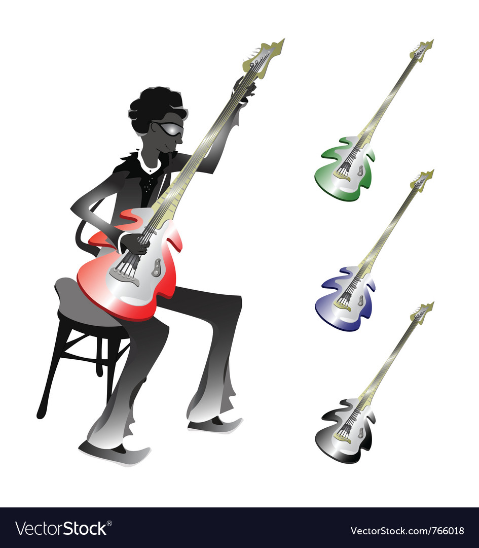 Groovy bassist