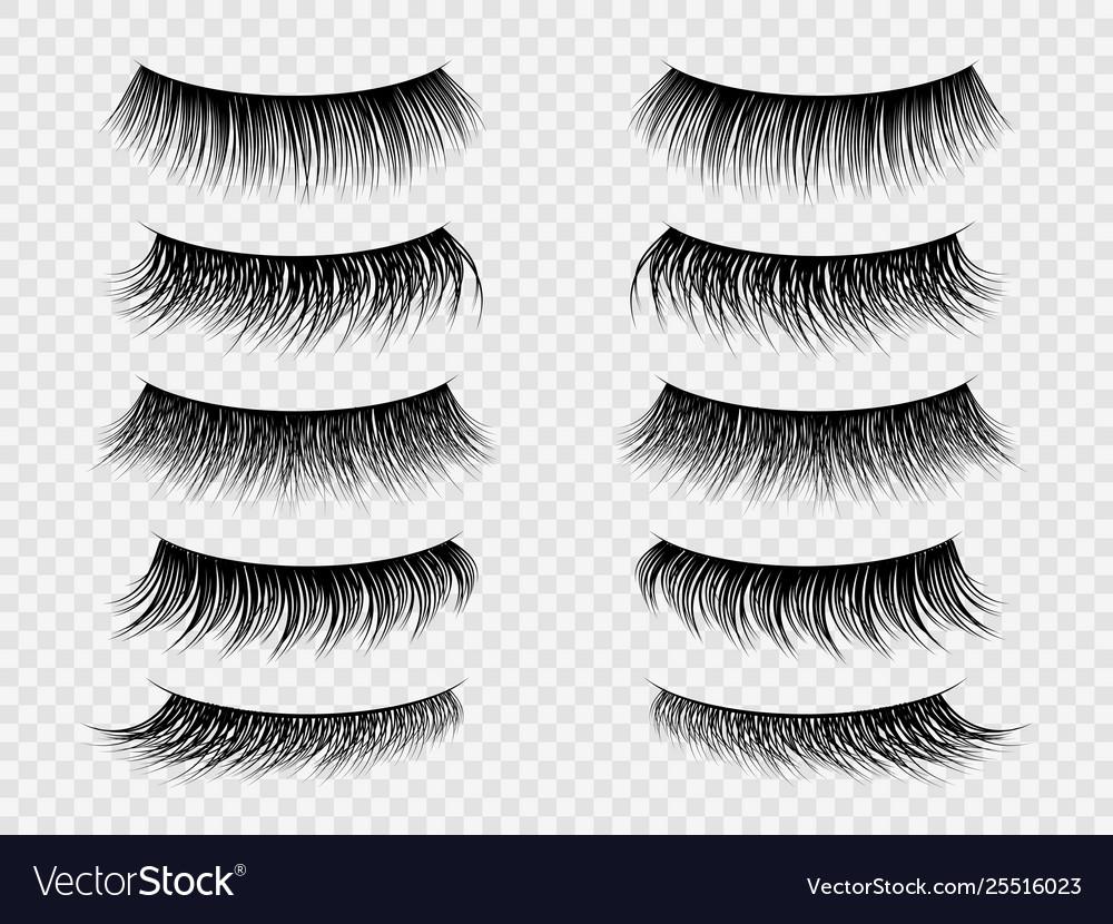False lashes realistic eyelashes fake thick lash