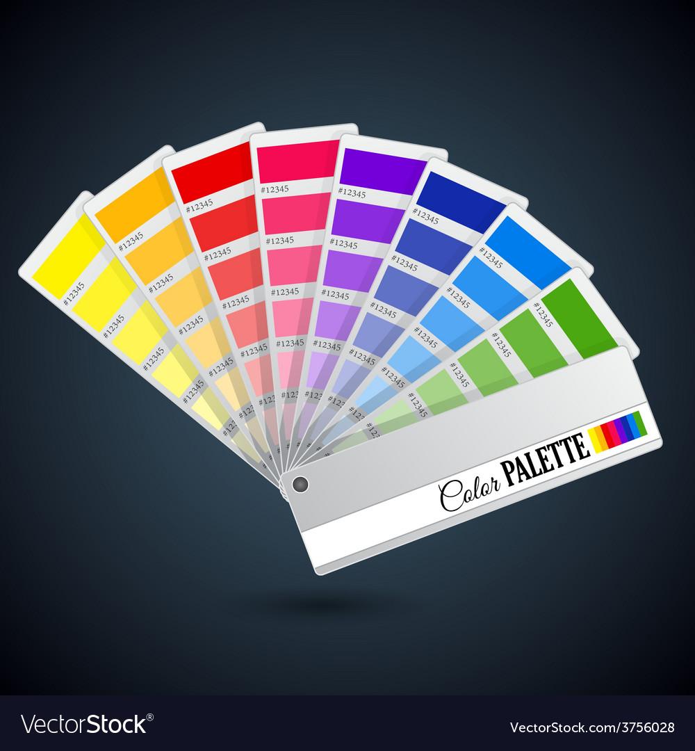 Color palette guide Catalogue cards