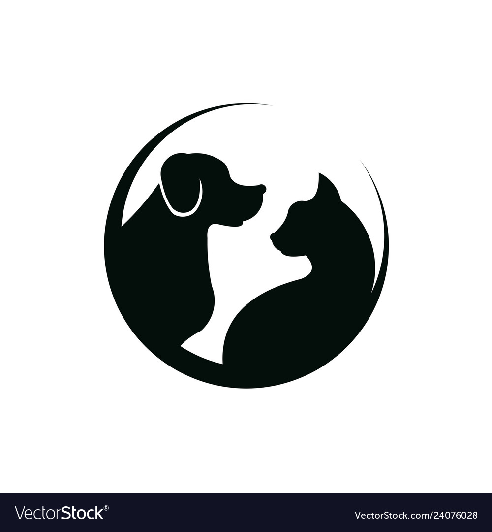 Dog Cat Pet Care Royalty Free Vector Image Vectorstock
