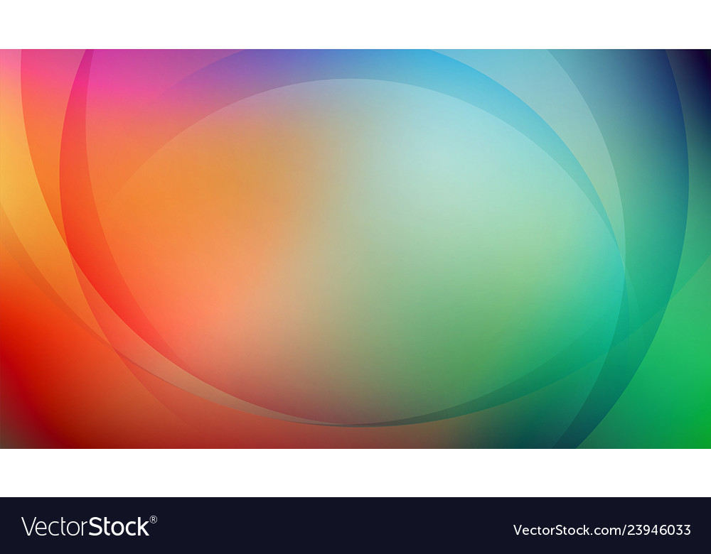 Abstract curved with colorful background