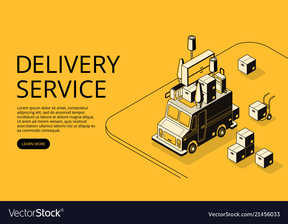 House moving or shop delivery