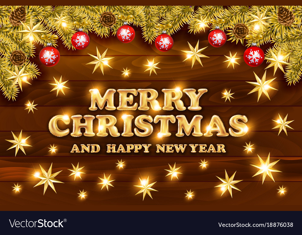 Christmas greeting card and happy new year