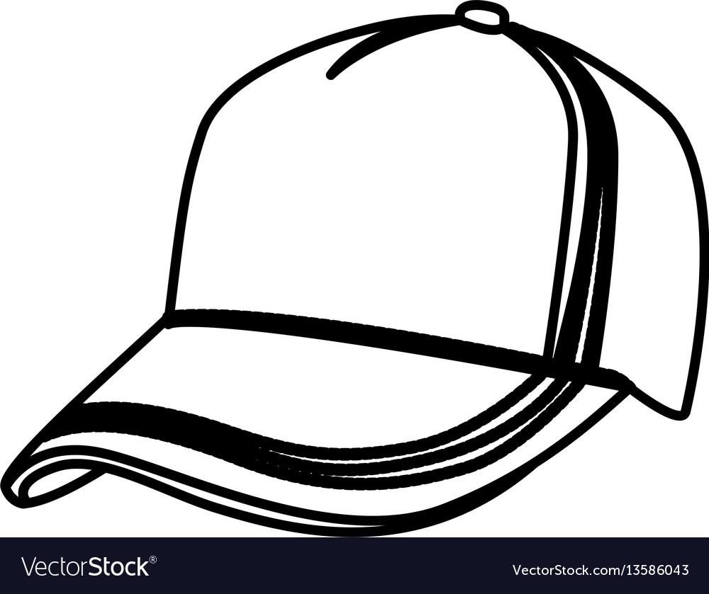 Figure hat cloth icon