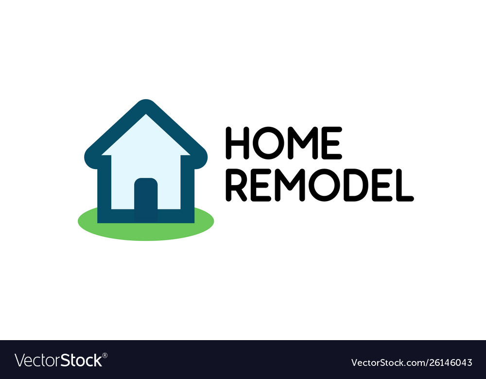 Stylish logo for house repair business