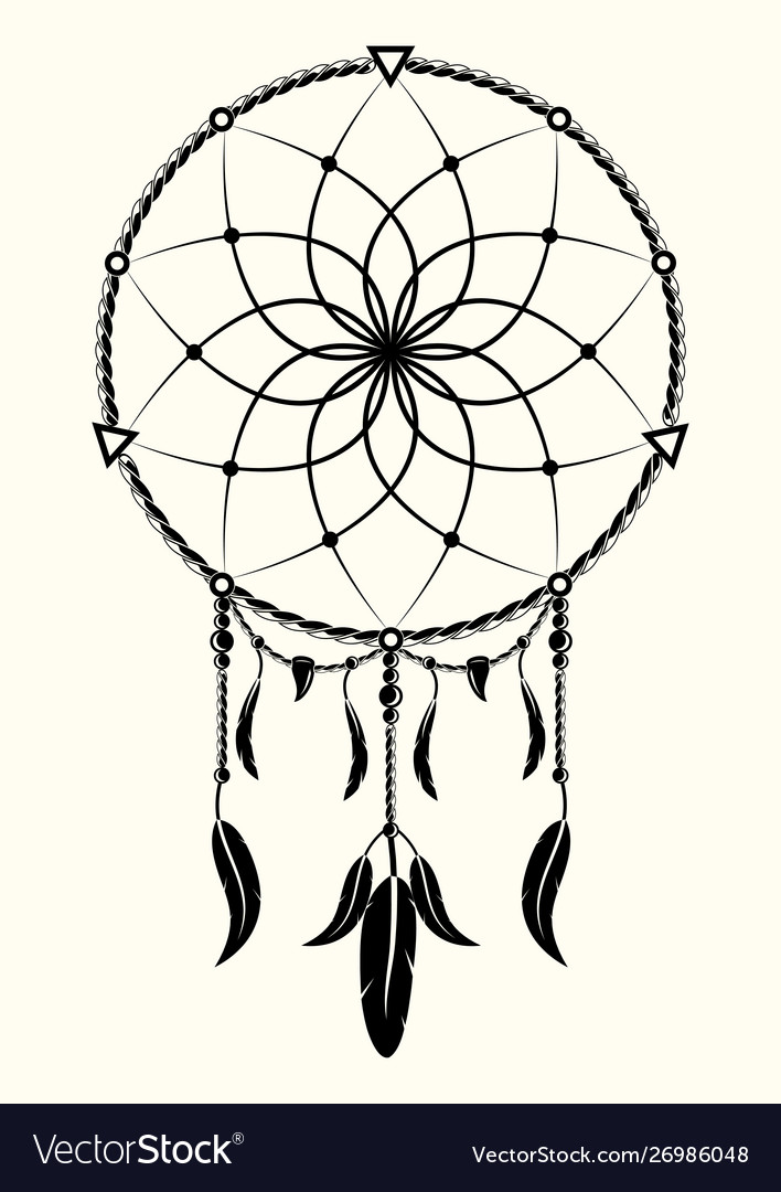 Dreamcatcher 0001 vector