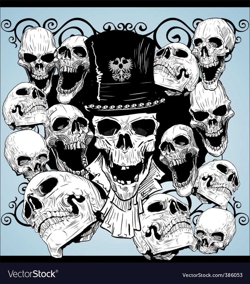 Skull tattoo wallpaper