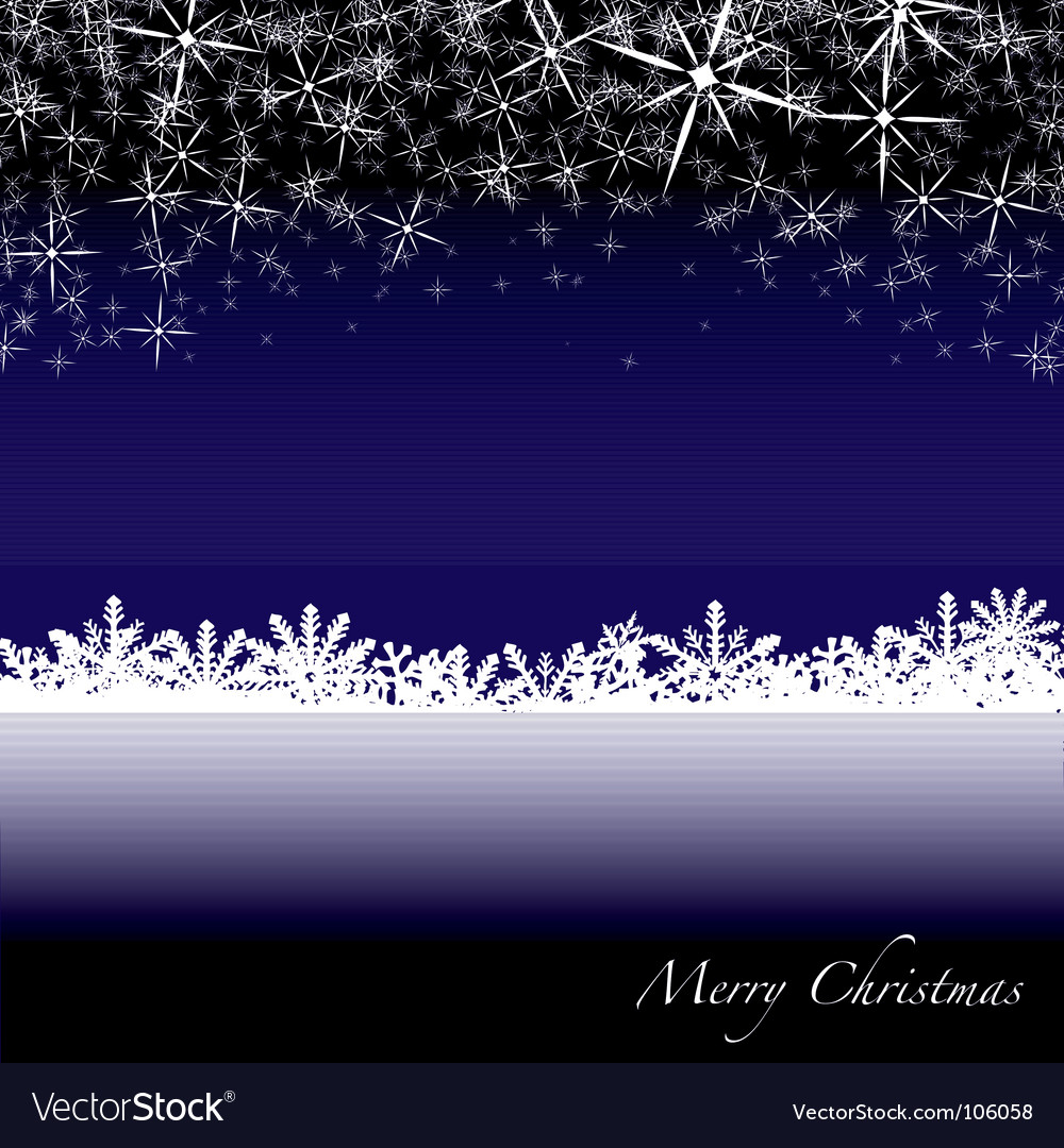 Christmas snow drift vector