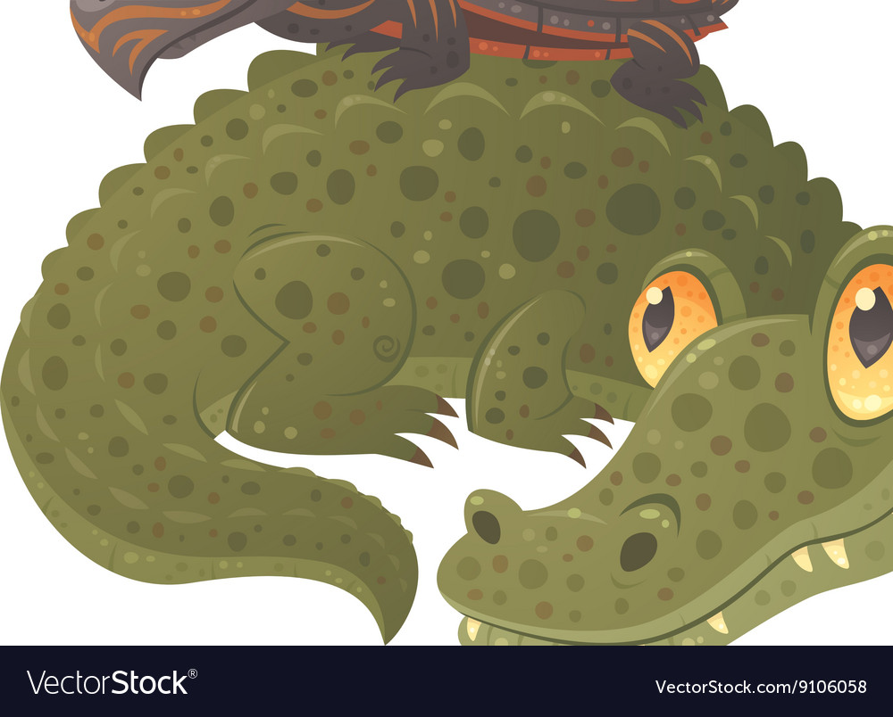 Swamp Squad vector image