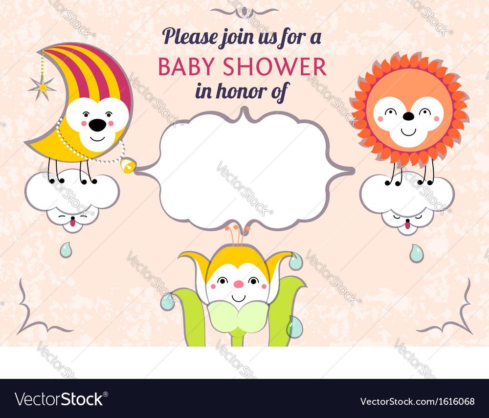 Baby Shower Invitation Card Editable Template