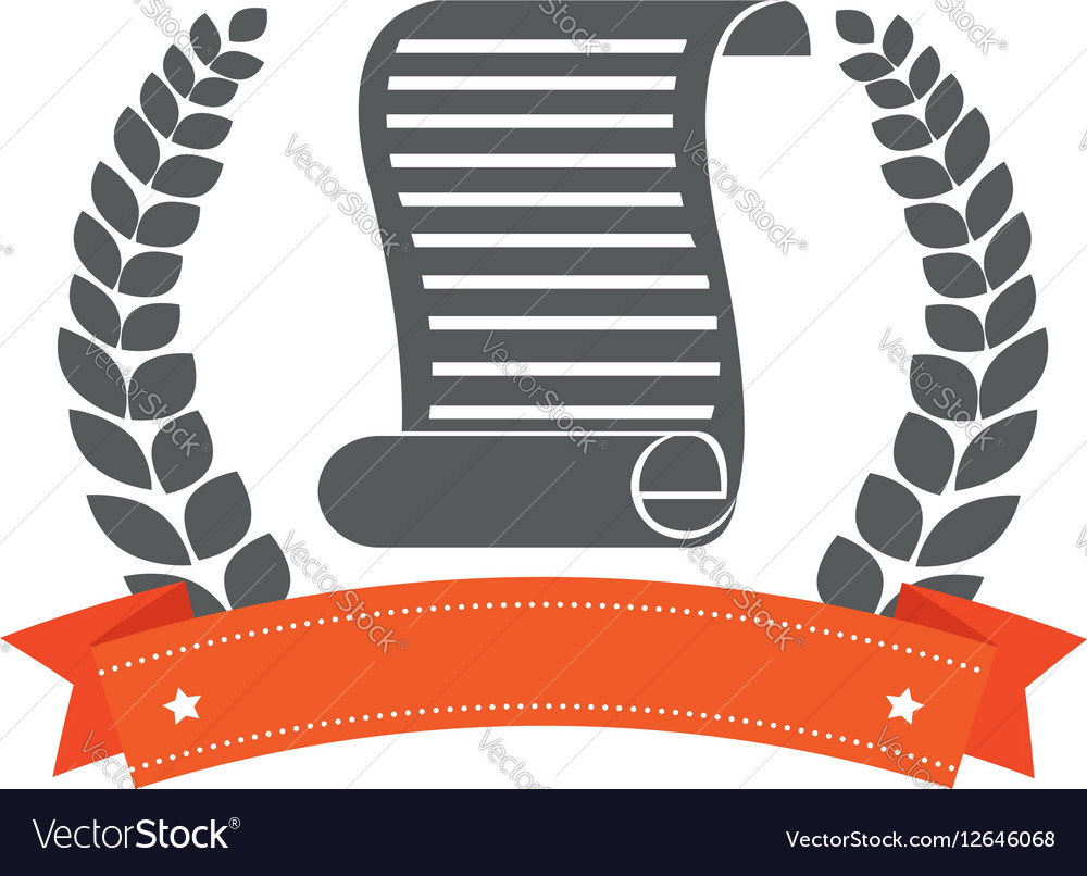 Justice document isolated icon