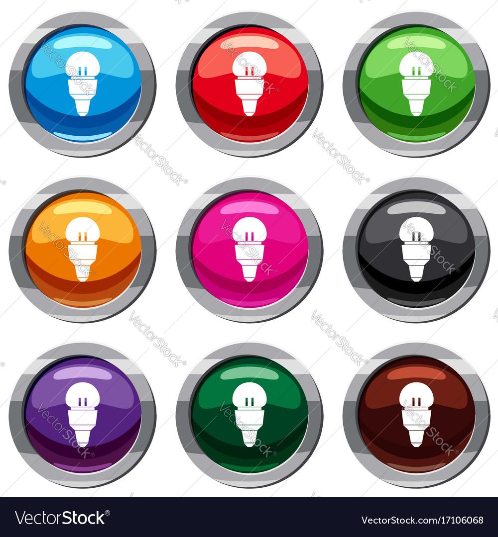 Reflector bulb set 9 collection