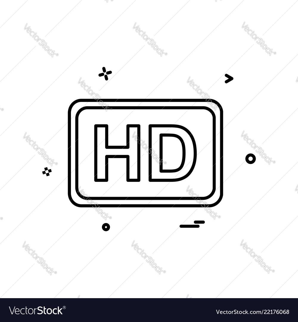 Video quality icon design