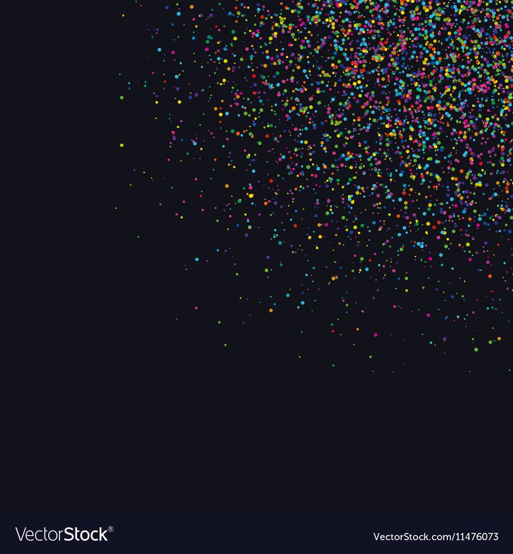 021016 0047 confetti in corner vector image