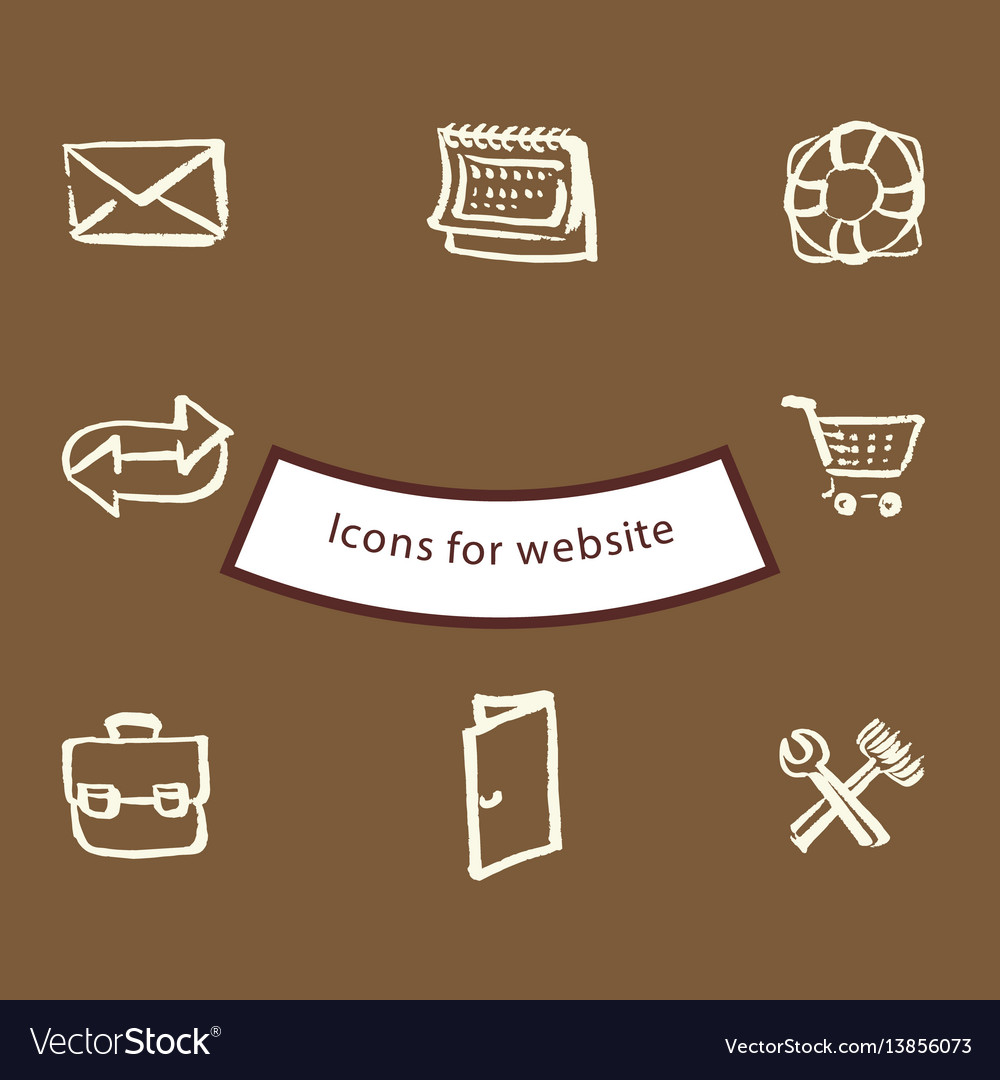 Icons for websites