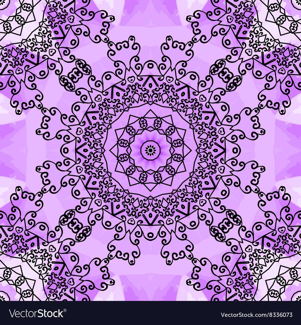 Violet seamless print