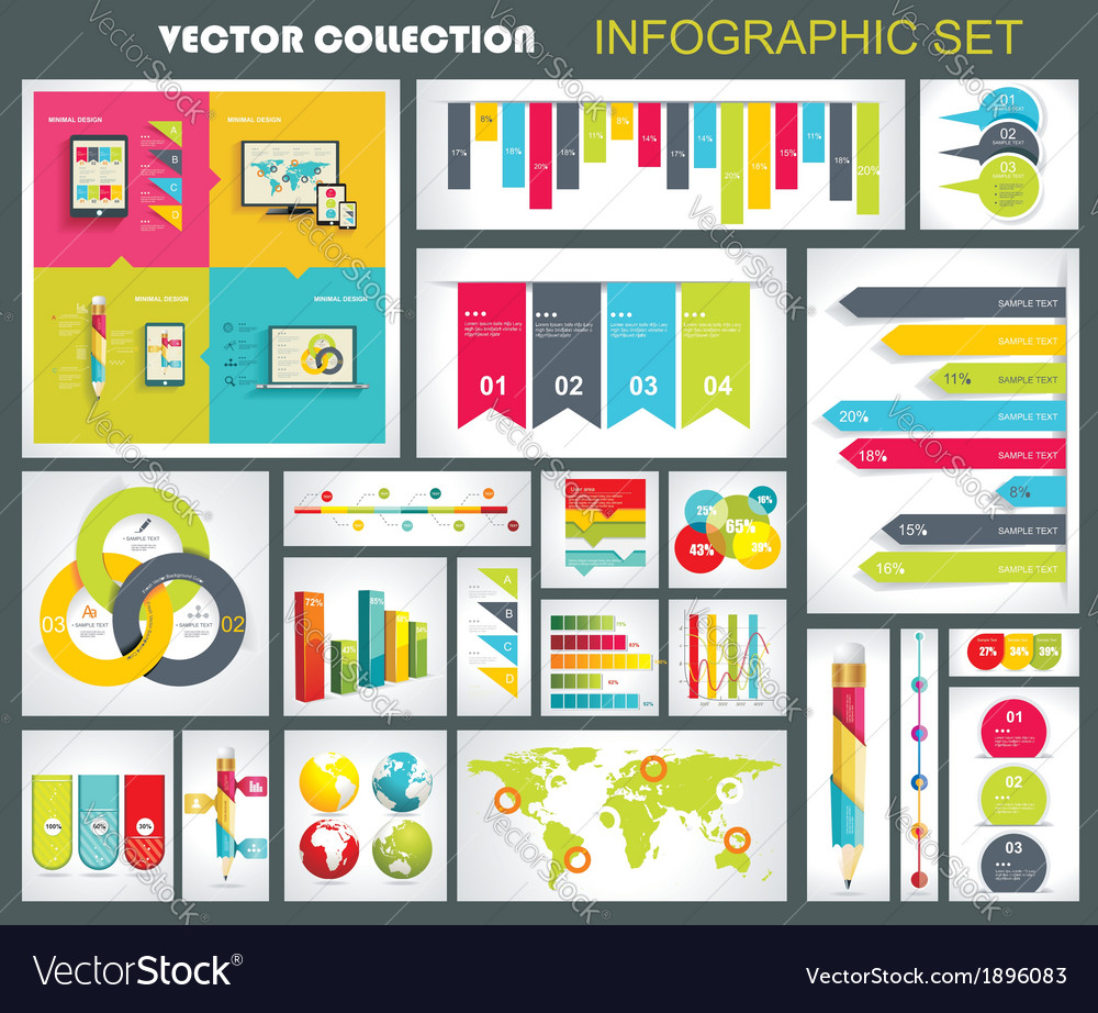 Collection of quality Infographics Design