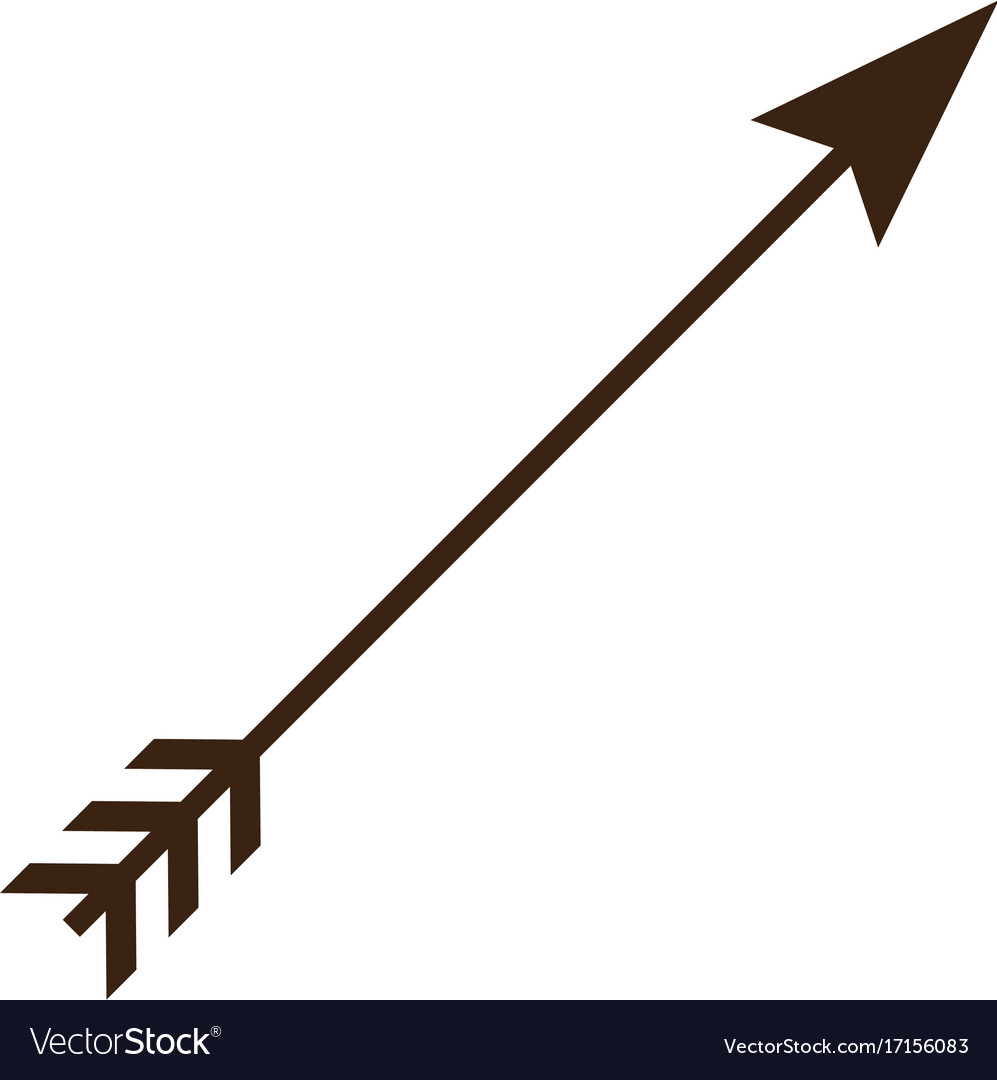 crossed vintage arrow royalty free vector image rh vectorstock com arrow vintage illustration vector free vintage arrow vectors