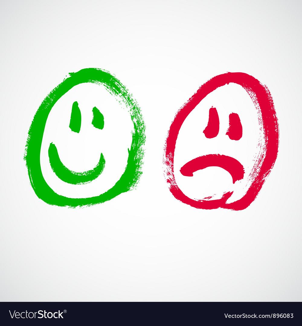 Smiley face cartoon