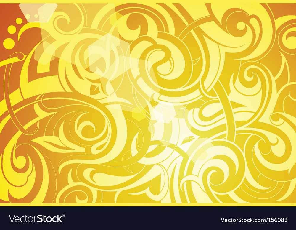 Summer tattoo background vector image