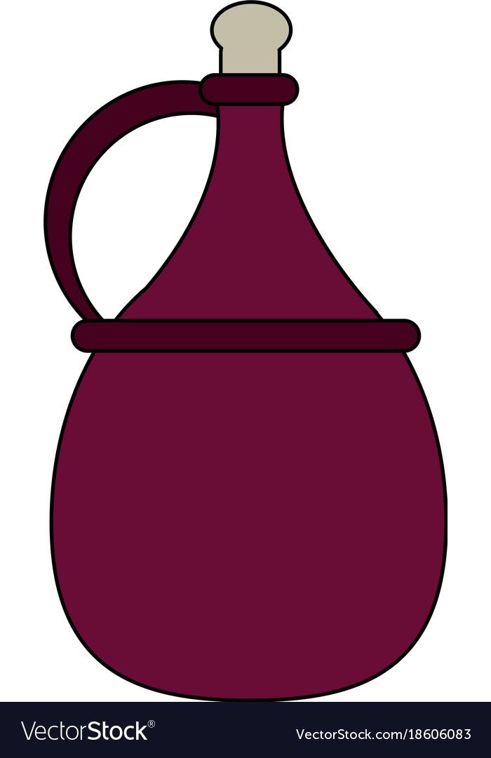 Wine antique jar