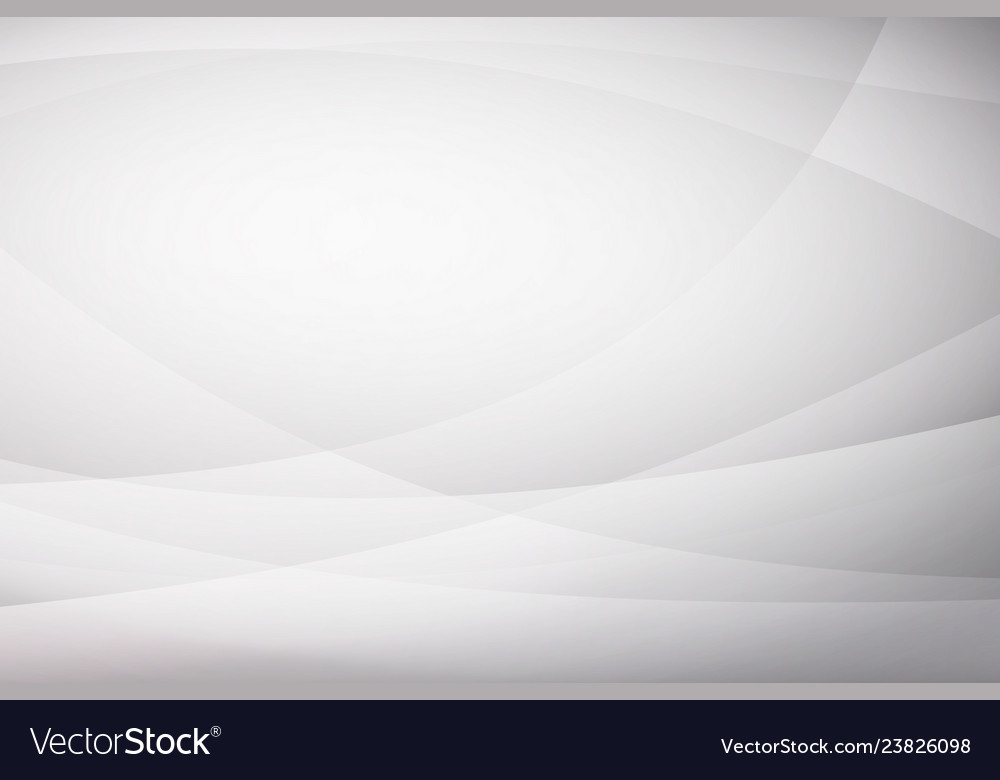 Abstract white curve background