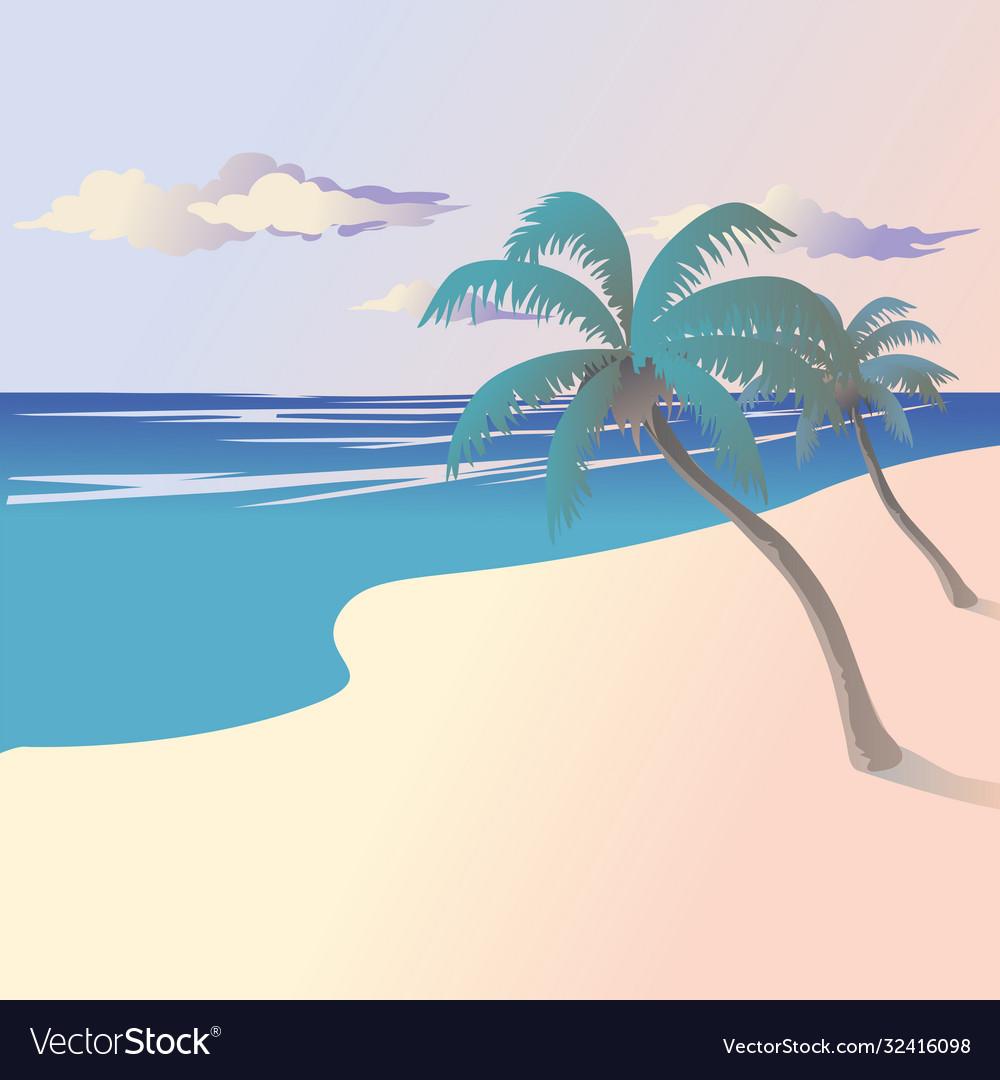 Landscape coast