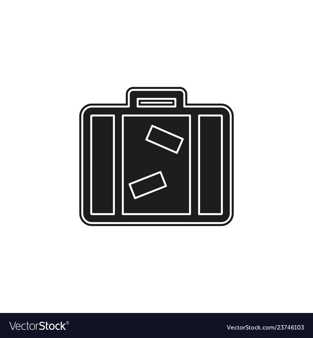 Tourist bag - travel icon - luggage icon