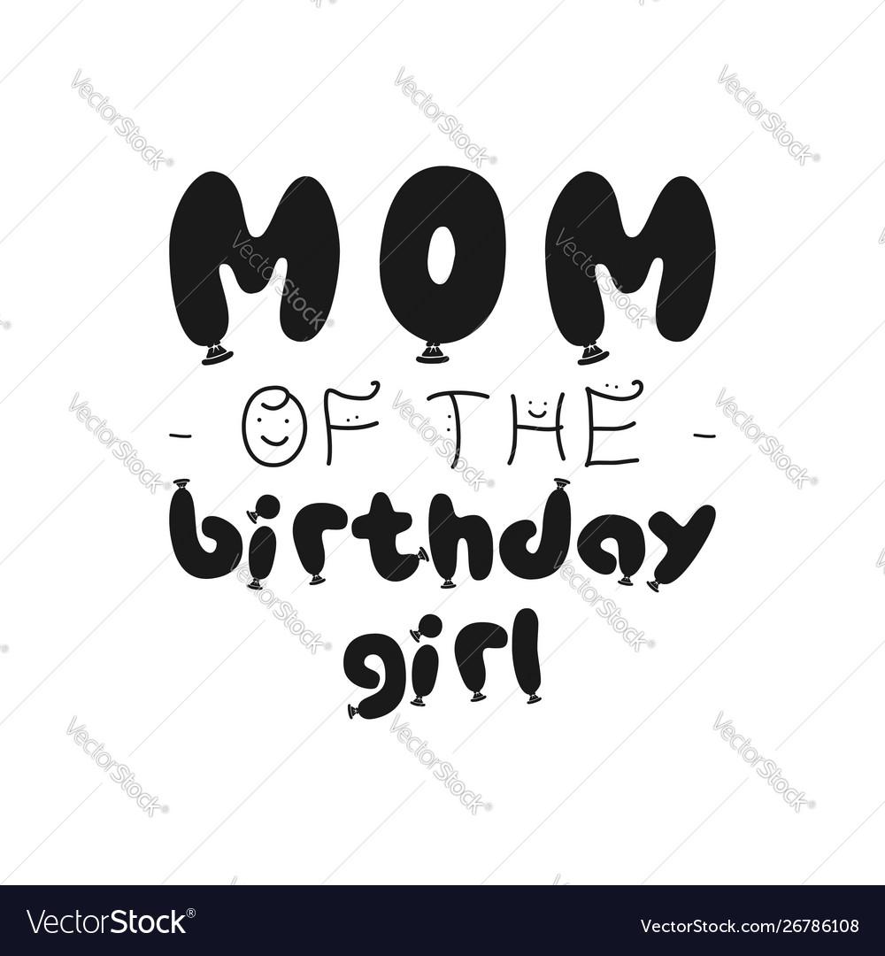 Birthday girl silhouette graphic desgin for t