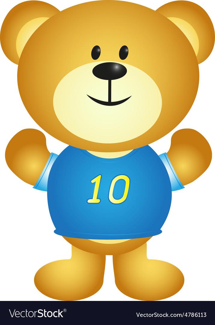 Boy Cartoon Bear vector image