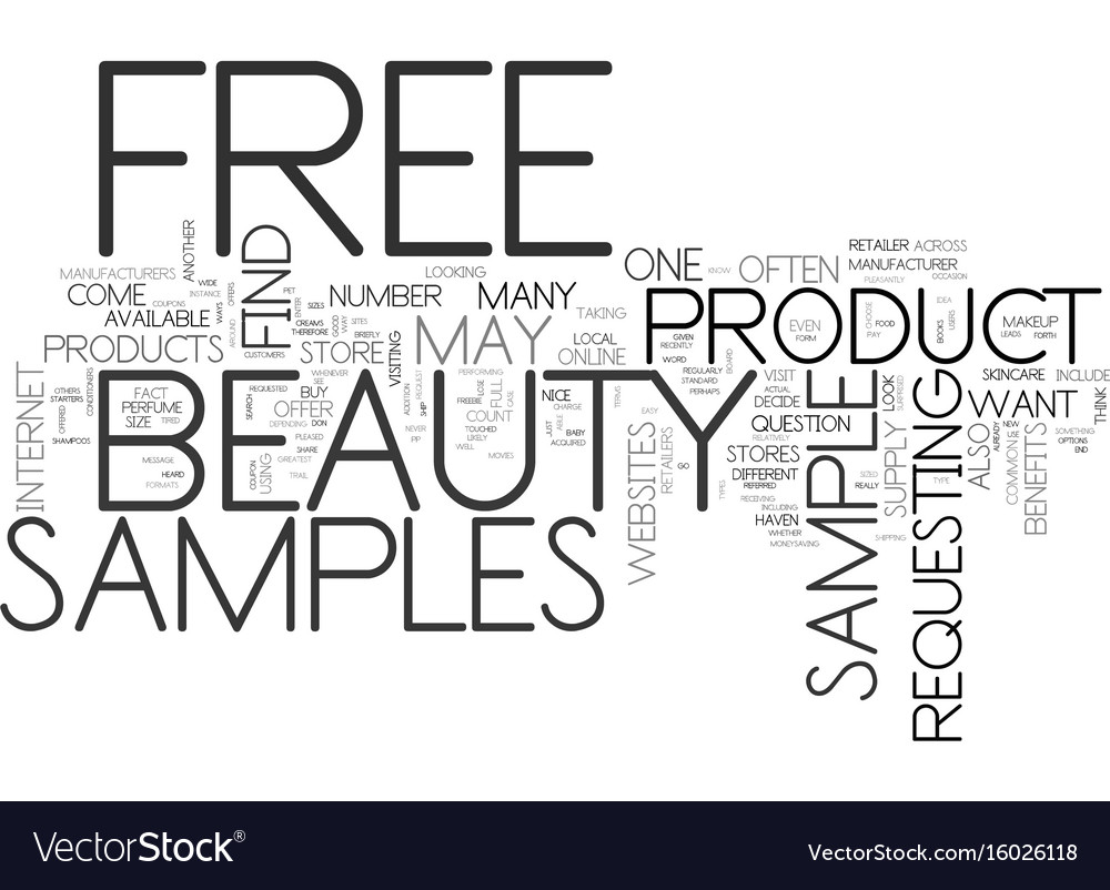 Free beauty samples what they are and how to find