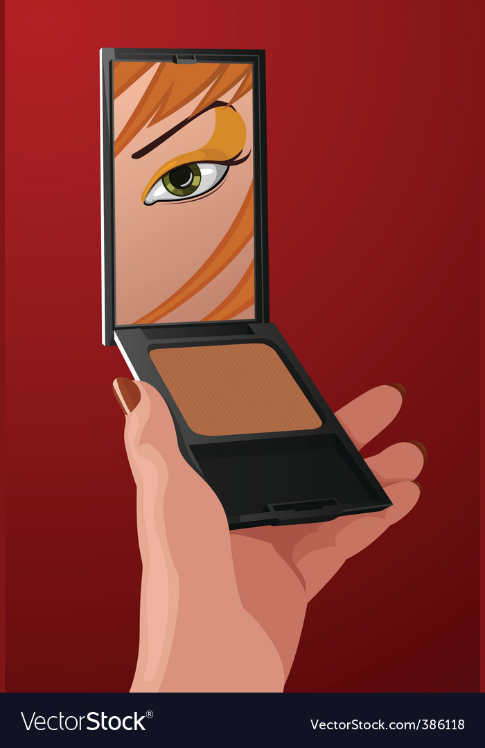 Makeup cartoon
